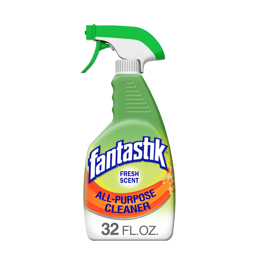 Fantastik All-Purpose Cleaner, Fresh Scent, 32 Ounce Bleach-Free Removes Grease - 32 fl oz - Millennial Sales