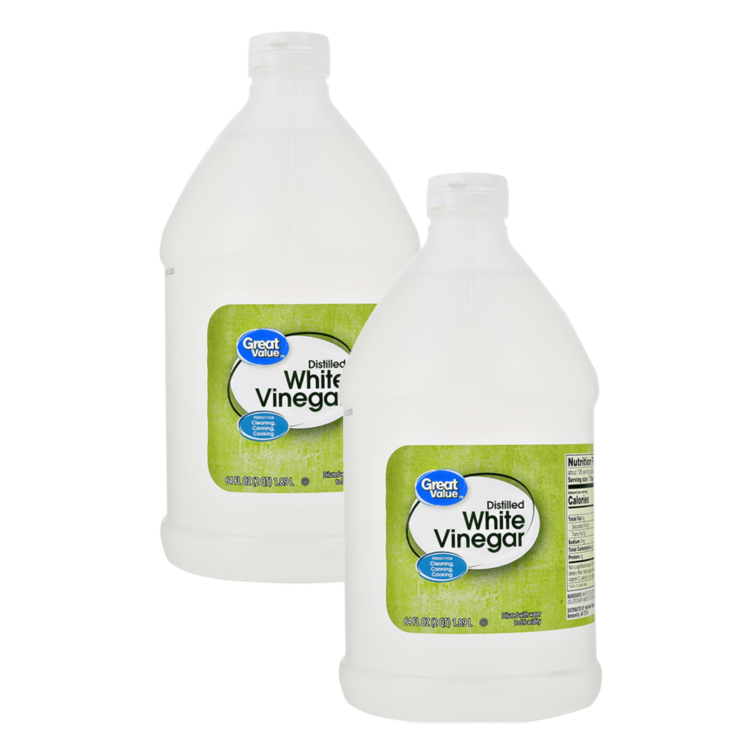 Great Value Distilled White Vinegar, 64 oz, 2 Pack - Millennial Sales
