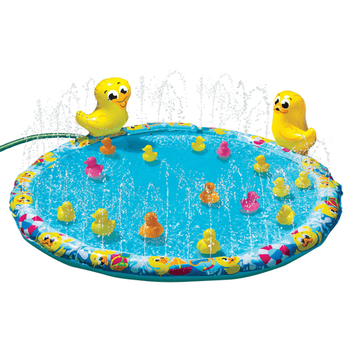 Banzai Duck Duck Splash Mat Set Outdoor Pool toy - Millennial Sales