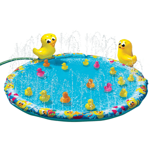 Banzai - Duck Duck Splash Inflatable Air Water Sprinkler Mat Outdoor Kiddie Portable Pool - Millennial Sales