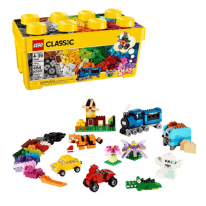 LEGO Classic Medium Creative Brick Box Building Toys for Creative Play, Kids Creative Kit 10696 - Millennial Sales