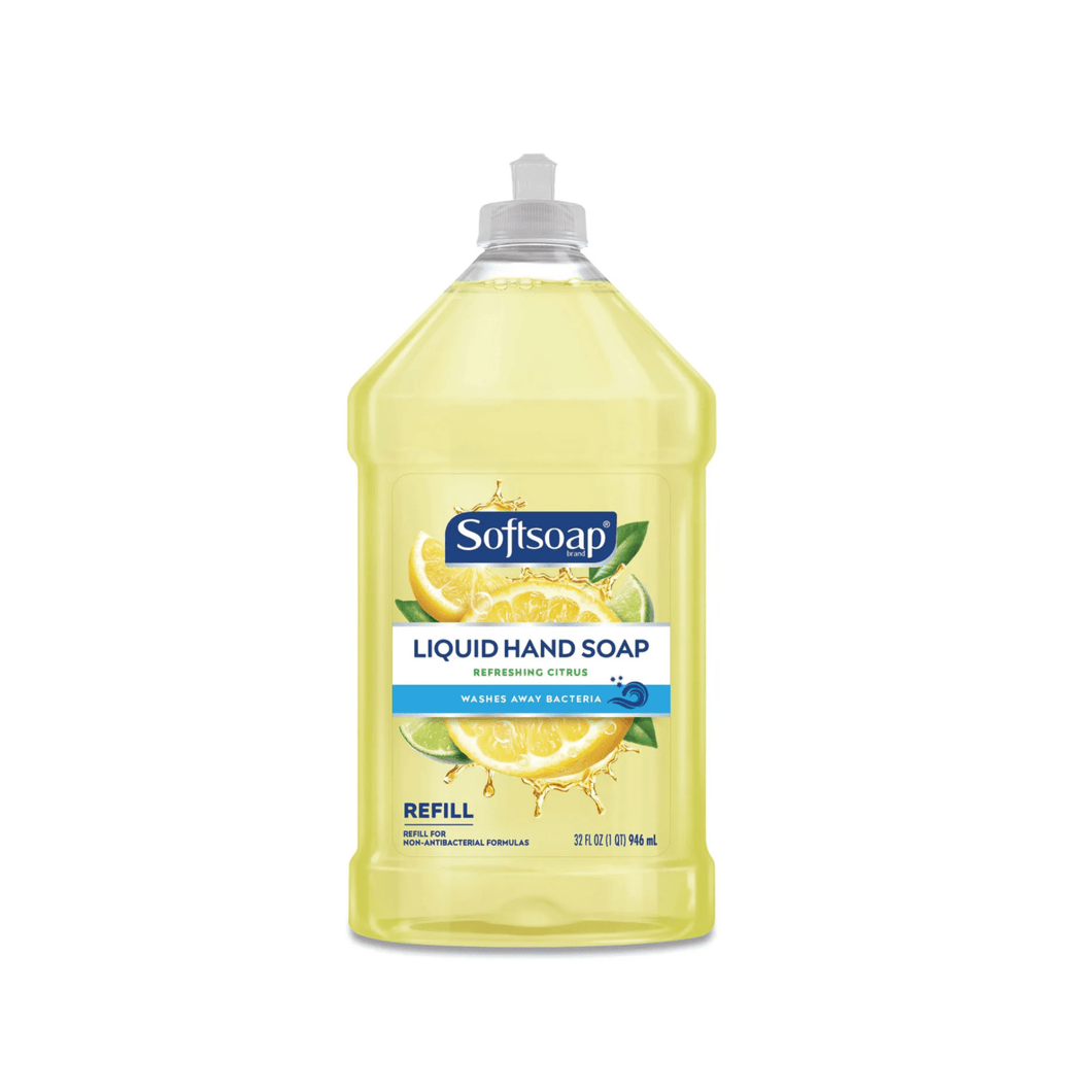 Softsoap Antibacterial Liquid Hand Soap Refill Refreshing Citrus, 32 oz Bottle - Millennial Sales