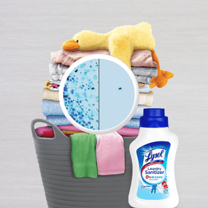 Lysol Fresh Blossom Scented Laundry Sanitizer Kills Germs Bacteria - 41oz - Millennial Sales