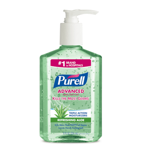Purell Instant Hand Sanitizer with Pump - Aloe Vera, 8 Ounce - Millennial Sales