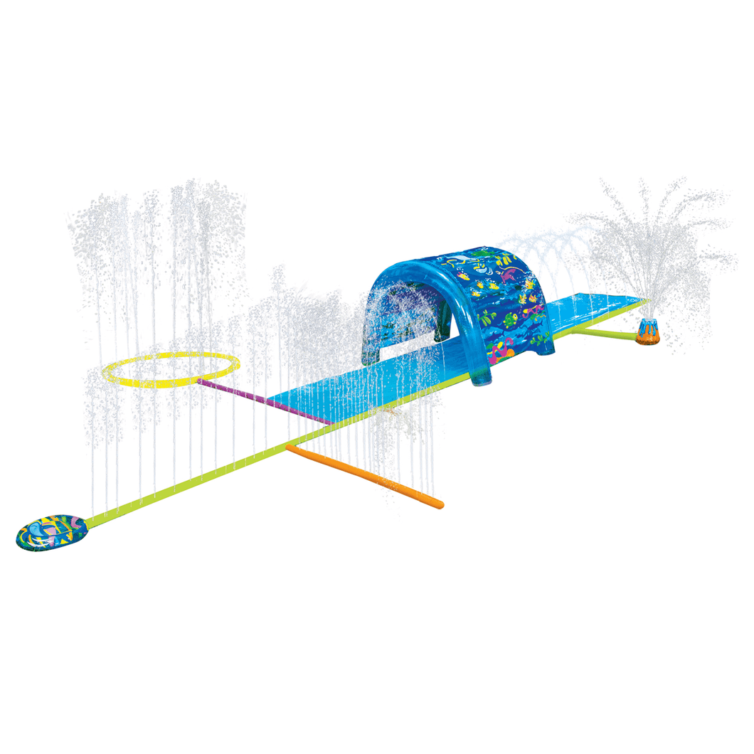 Banzai - Splash Slip And Slide Inflatable Sprinkler Water Park Slides - Millennial Sales