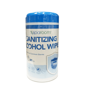 Rubbing Alcohol 75% Isopropyl Disinfectant Wipes - 80 count - SpaRoom - Millennial Sales