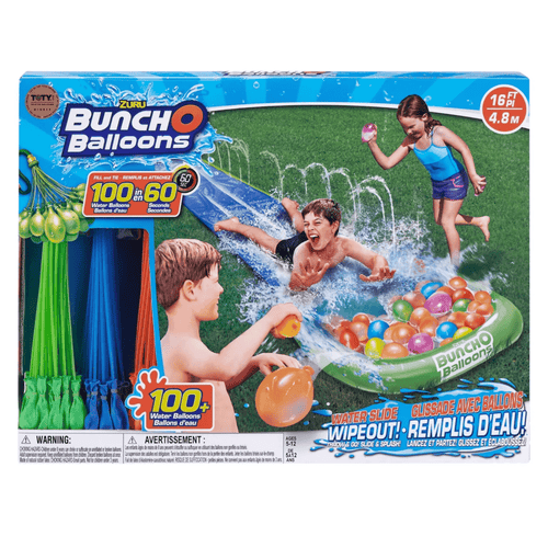 Zuru Bunch O Balloons Inflatable Slippery Wet Single Lane Water Slip And Slide - Millennial Sales