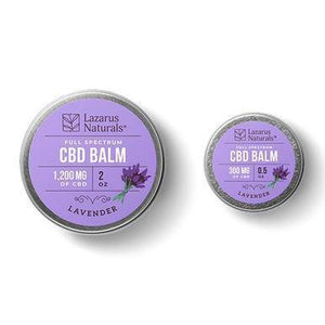 Lazarus Naturals - CBD Topical - Lavender Full Spectrum Best Lip Balm - 300mg-1200mg - Millennial Sales