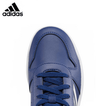 Load image into Gallery viewer, Adidas Boy's Kids' Blue Court Sneaker Shoes - Size 1 - Millennial Sales