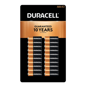Duracell Double AA Alkaline Batteries, 40-count - Millennial Sales