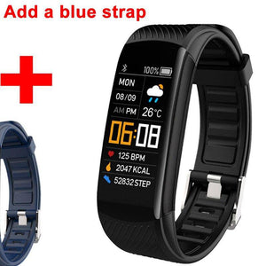 Smart Watch Bracelet Blood Pressure Fitness Running Tracker Heart Rate Monitor for iPhone Android - Millennial Sales