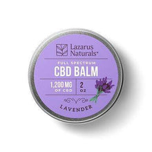 Load image into Gallery viewer, Lazarus Naturals - CBD Topical - Lavender Full Spectrum Best Lip Balm - 300mg-1200mg - Millennial Sales