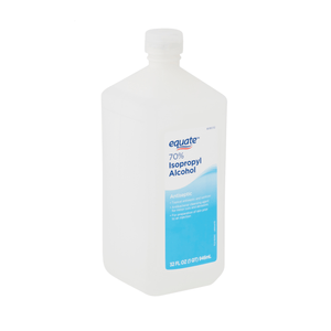 Rubbing Alcohol Isopropyl 70% Antiseptic First Aid, 32 fl oz - Equate Brand - Millennial Sales