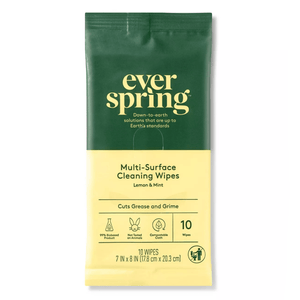 Ever Spring Lemon & Mint Multi-Surface Cleaning Wipes - 10ct - Everspring - Millennial Sales