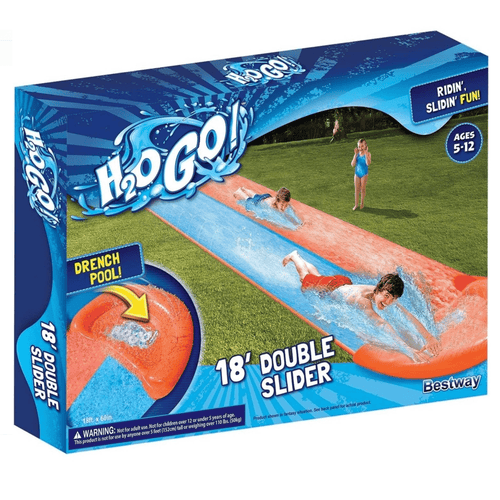 H2OGO! 18' Double Lane Water Slide - Millennial Sales