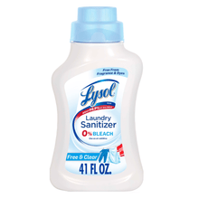 Load image into Gallery viewer, Lysol Laundry Detergent Sanitizer, Free & Clear No Scent 41 fl oz Scent-Free - Millennial Sales