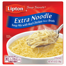Load image into Gallery viewer, (4 pack) Lipton Extra Noodle Instant Soup Mix, 4.5 oz - Millennial Sales