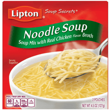Load image into Gallery viewer, (4 pack) Lipton Noodle Instant Soup Mix, 4.5 oz - Millennial Sales