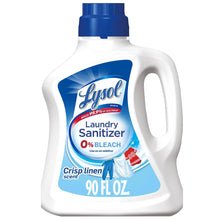 Load image into Gallery viewer, Lysol Laundry Detergent Sanitizer Kills Bacteria Viruses Crisp Linen Scent, 90 fl oz - Millennial Sales
