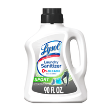Load image into Gallery viewer, Lysol Laundry Sanitizer Kills Disinfects Bacteria Sport Scent 90 fl oz - Millennial Sales