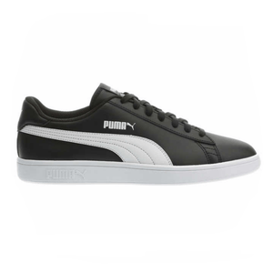 Puma Men's Classic Original Style Smash Leather Shoe Sneakers Black - Puma's Size 10 - Millennial Sales
