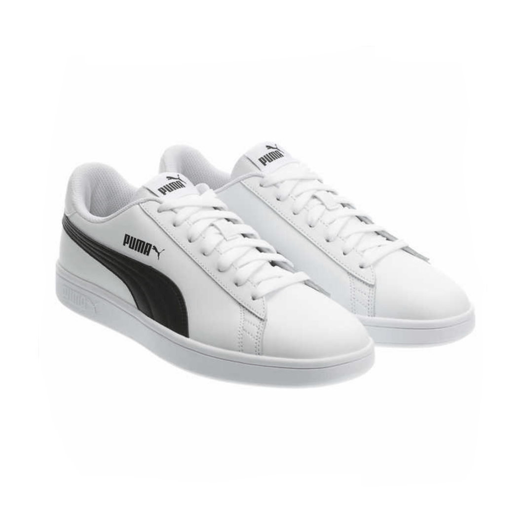 Puma Men's Classic Fashion Smash Leather Shoe Sneakers White - Puma's Size 11 - Millennial Sales