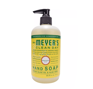 Mrs. Meyer's Clean Day Liquid Hand Soap Bottle, Honeysuckle Scent, 12.5 fl oz - Millennial Sales