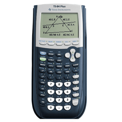 Texas Instruments Best Student TI-84 Plus Algebra Statistics Graphing Calculator, 10-Digit LCD - Millennial Sales