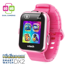 Load image into Gallery viewer, The Best Kids Smart Watch Vtech Kidizoom DX2 Pink Smartwatch Dual Cameras, Game Apps - Millennial Sales