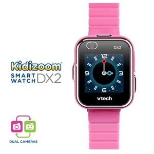 The Best Kids Smart Watch Vtech Kidizoom DX2 Pink Smartwatch Dual Cameras, Game Apps - Millennial Sales