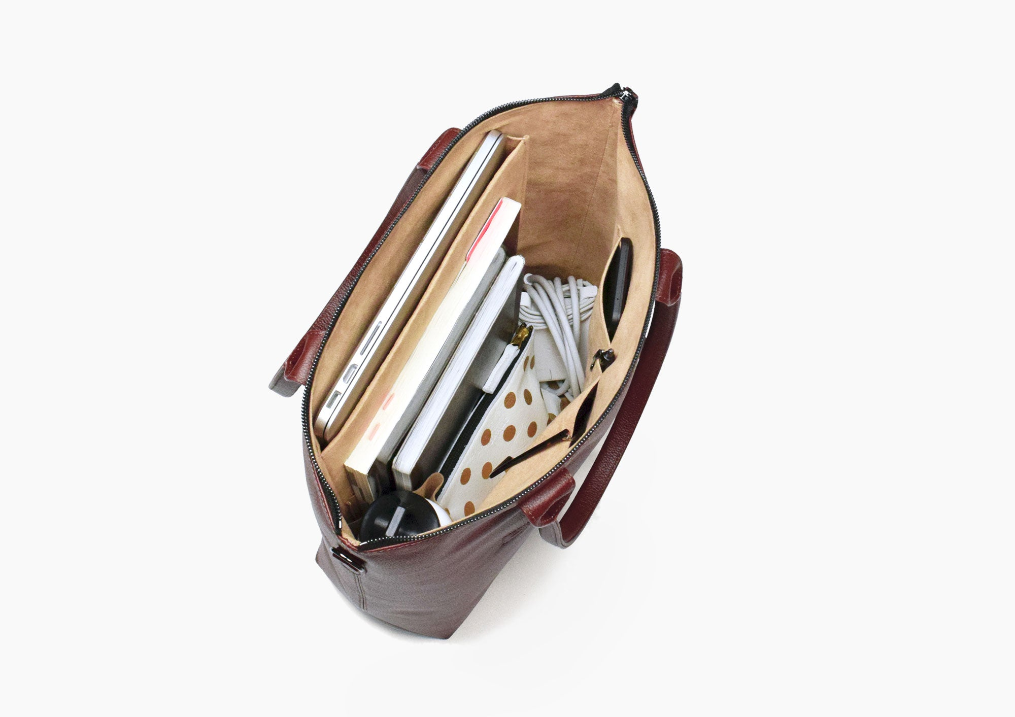 Daame laptop bag intuitive interior