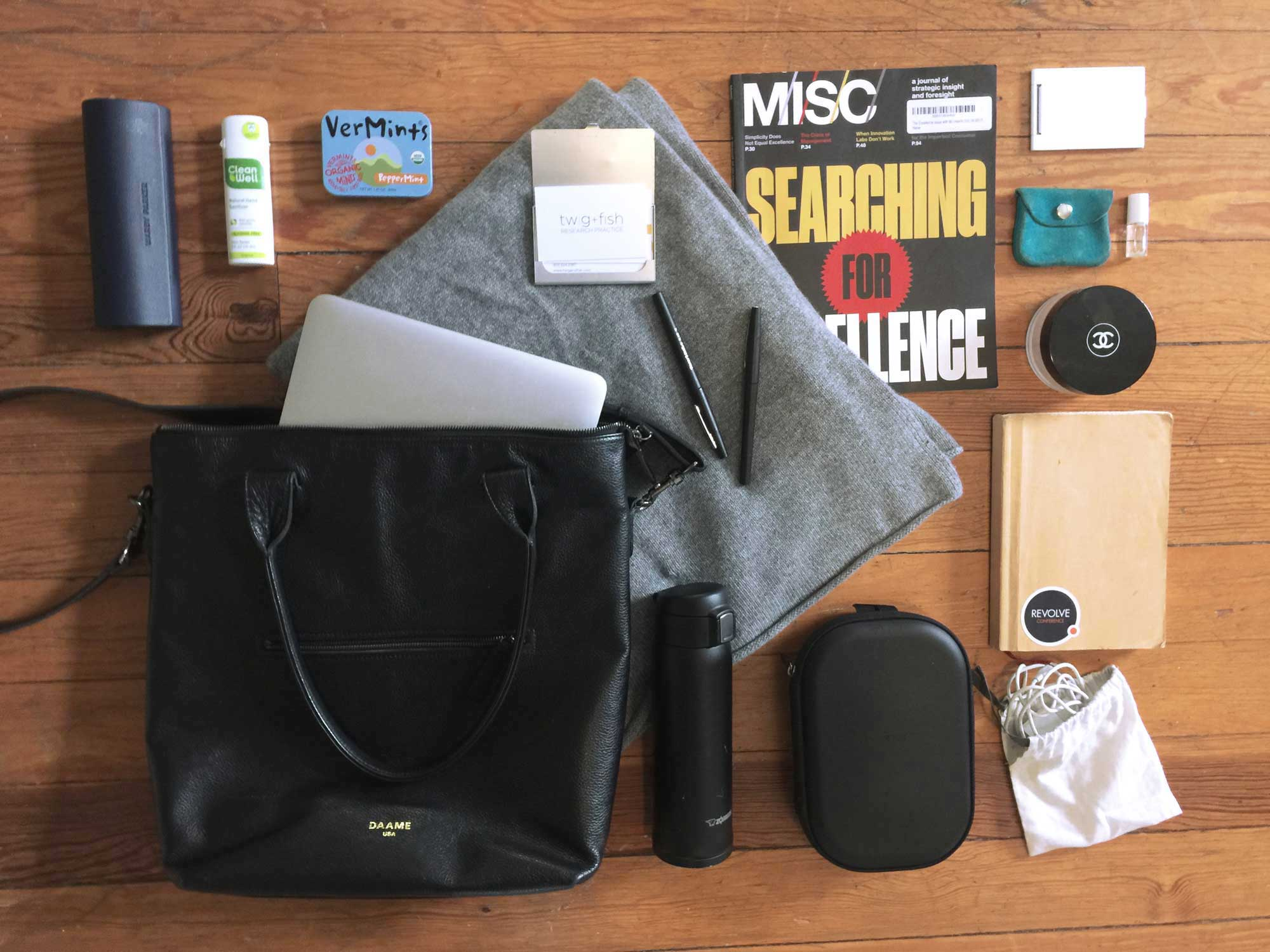 Zarla's Midi tote what's in my bag