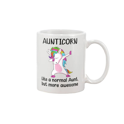Aunticorn Like A Normal Aunt But More Awesome Mug - Apparel