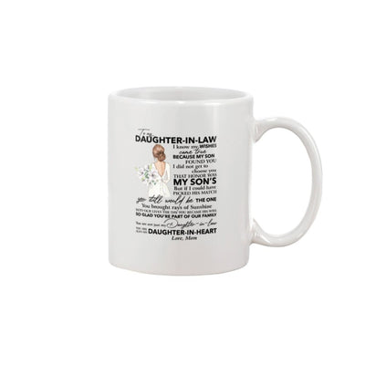 Daughter-In-Law So Glad You're Part Of Our Family Mug - 11oz