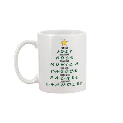 Friends Christmas Mug - Apparel