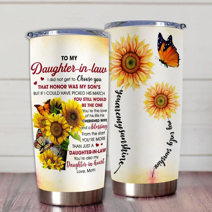 Gift For Daughter Daughter-In-Law Sunflower Art You're More