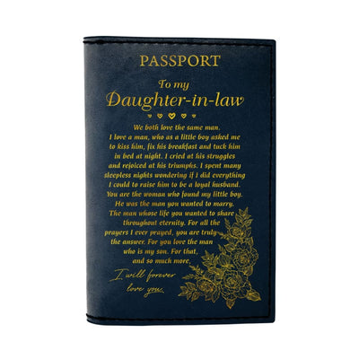 Gift For Daughter-In-Law I Will Forever Love You - Passport