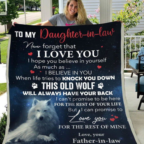 Gift For Daughter-In-Law Promise To Love You For The Rest Of