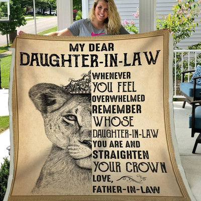 Gift For Daughter-In-Law Remember Whose Daughter-In-Law You
