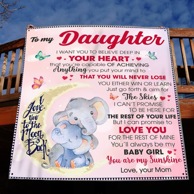 Gift For Daughter Promise To Love You For The Rest Of Mine