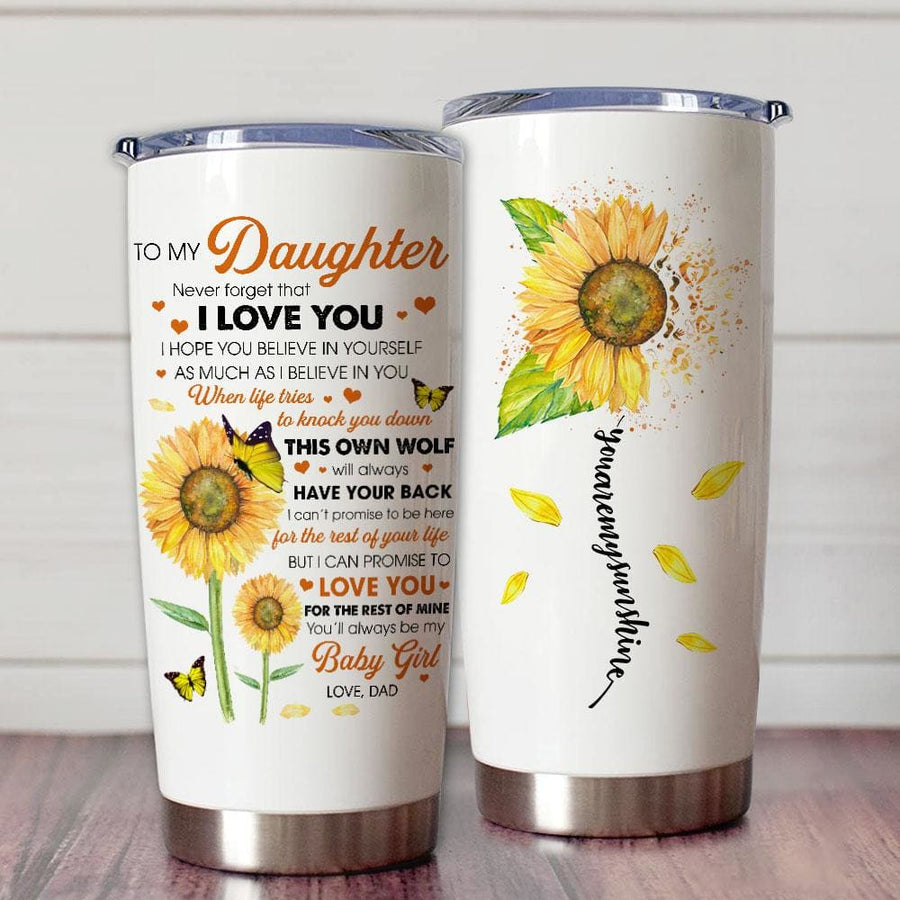 Gift For Daughter Sunflower Art I Can Promise To Love You