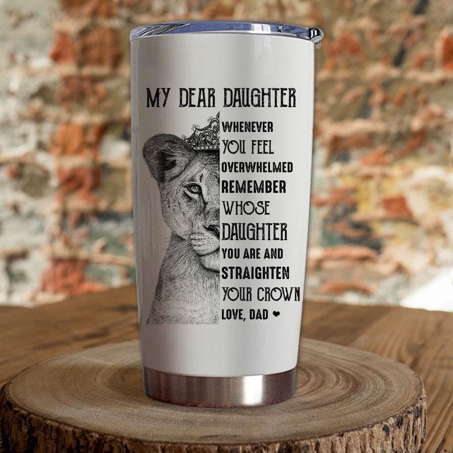 Gift For Daughter Whenever You Feel Overwhelmed Remember