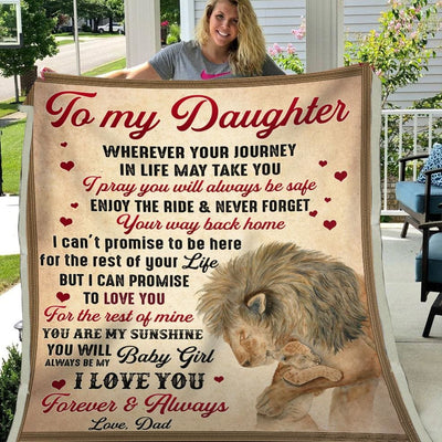 Gift For Daughter You'll Always Be My Baby Girl I Love You