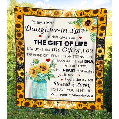 Gift For Dear Daughter-In-Law Life Gave Me The Gift Of You -