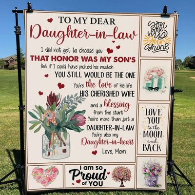 Gift For Dear Daughter-In-Law You'Re Also My