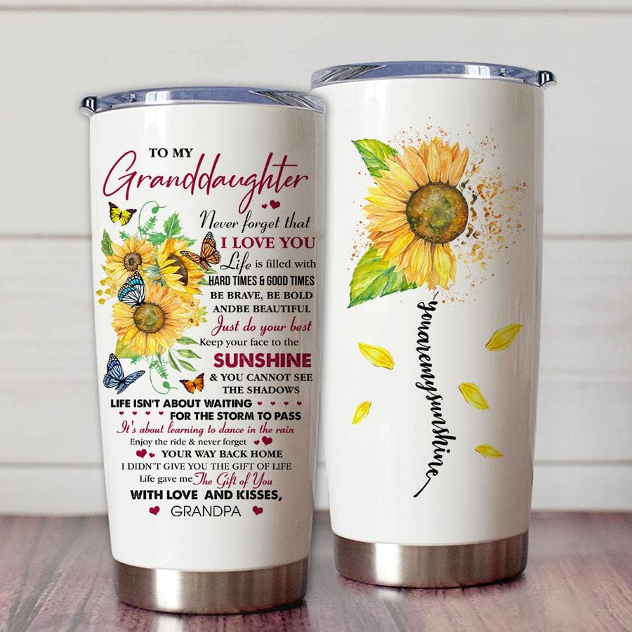 Gift For Granddaughter Be Brave Be Bold Be Beautiful & Just