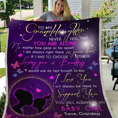 Gift For Granddaughter I'Ll Always Be There To Support You -