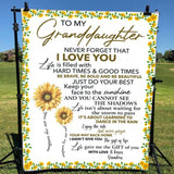 Gift For Granddaughter Life Gave Me The Gift Of You -