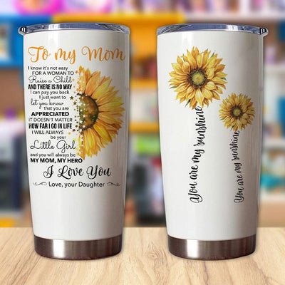Gift For Mom You'll Always Be My Mom My Hero & I Love You -