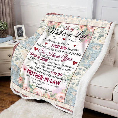 Gift For Mother-In-Law You'Ve Meant So Much To Me - Blanket